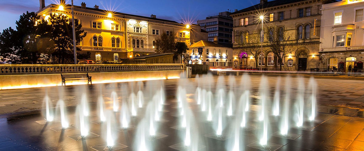 New Town Square for Weston-super-Mare opened